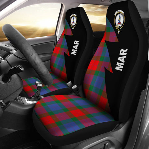 Mar Clans Tartan Car Seat Covers - Flash Style