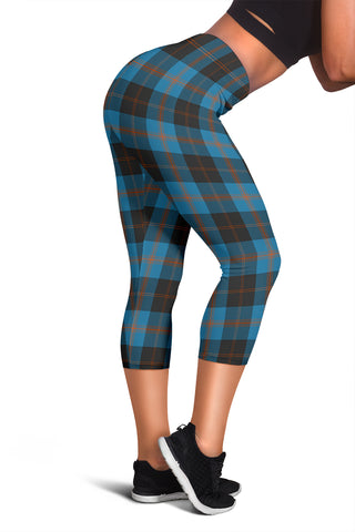 Angus Ancient Tartan Capris Leggings | Scottishclans.co