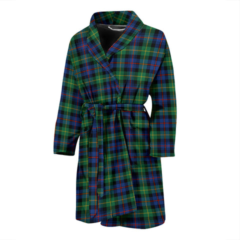 Farquharson Ancient Tartan Mens Bathrobe