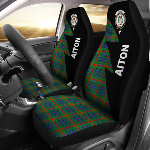 Aiton Clans Tartan Car Seat Covers - Flash Style