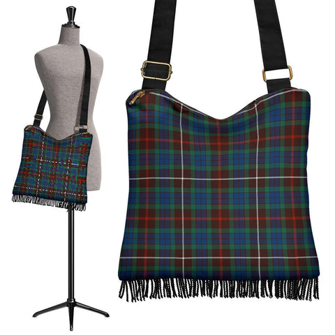 Fraser Hunting Ancient Tartan Boho Handbag | scottishclans.co