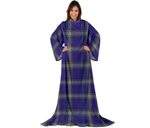 Kinnaird Tartan Clans Sleeve Blanket | scottishclans.co