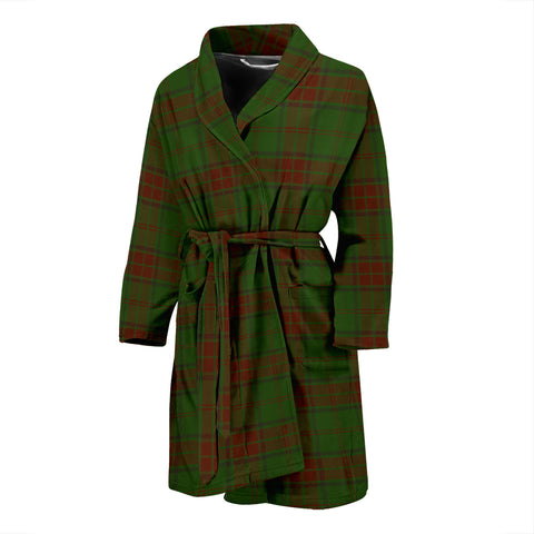 Maxwell Hunting Tartan Mens Bathrobe