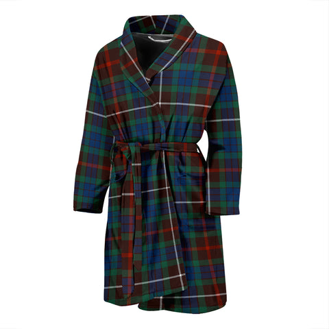 Fraser Hunting Ancient Tartan Mens Bathrobe