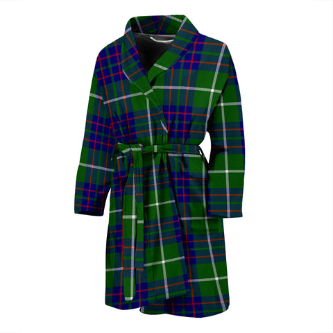 MacIntyre Hunting Modern Tartan Mens Bathrobe