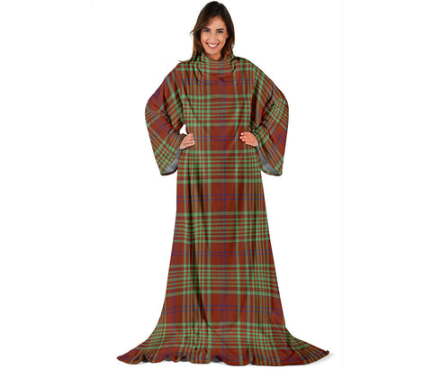 MacGillivray Hunting Ancient Tartan Clans Sleeve Blanket | scottishclans.co