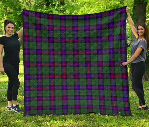 Image of Armstrong Modern Tartan Premium Quilt | Scottishclans.co