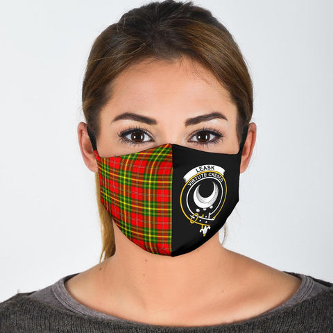 Leask  Tartan Mouth Mask The Half