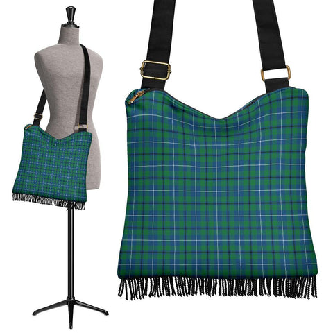 Douglas Ancient Tartan Boho Handbag | scottishclans.co