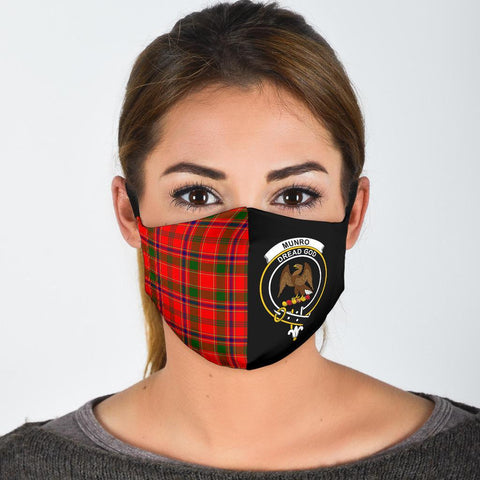 Munro Modern  Tartan Mouth Mask The Half