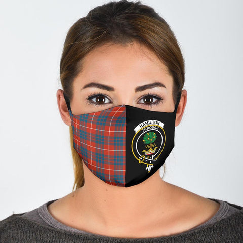 Hamilton Ancient  Tartan Mouth Mask The Half