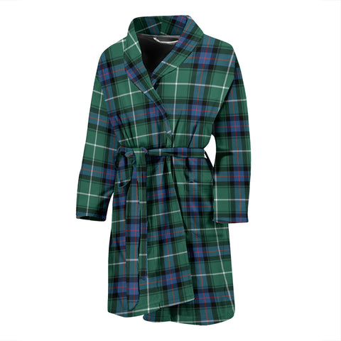 Image of MacDonald Of The Isles Hunting Ancient Tartan Mens Bathrobe