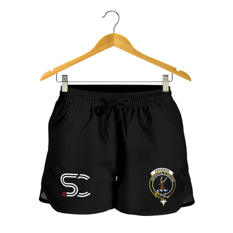Davidson Tulloch Dress Clan Badge Women's Shorts