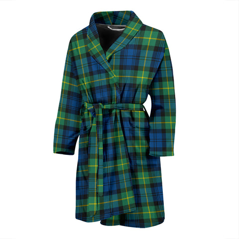 Gordon Ancient Tartan Mens Bathrobe