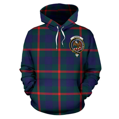 Image of Agnew Tartan Clan Badge Hoodie HJ4