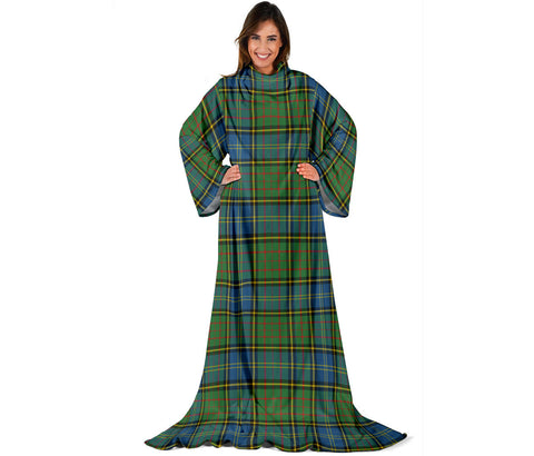 Image of MacMillan Hunting Ancient Tartan Clans Sleeve Blanket | scottishclans.co