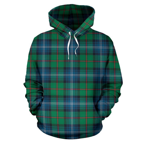 Urquhart Ancient Tartan Hoodie, Scottish Urquhart Ancient Plaid Pullover Hoodie
