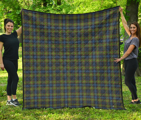 MacLellan Ancient Tartan Premium Quilt | Scottishclans.co
