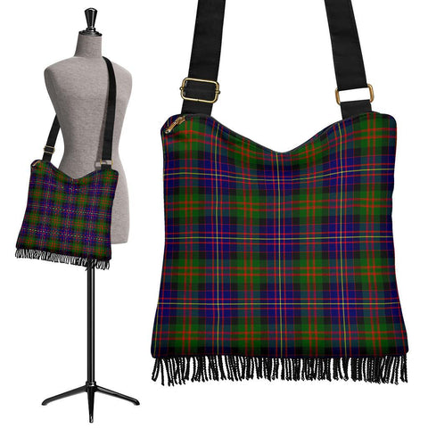 Cameron of Erracht Modern Tartan Boho Handbag | scottishclans.co