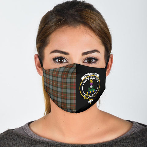 Fergusson Weathered  Tartan Mouth Mask The Half