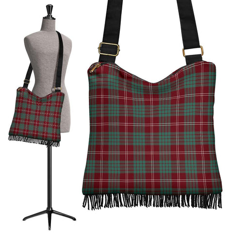 Crawford Modern Tartan Boho Handbag | scottishclans.co