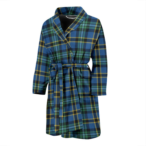 Weir Ancient Tartan Mens Bathrobe