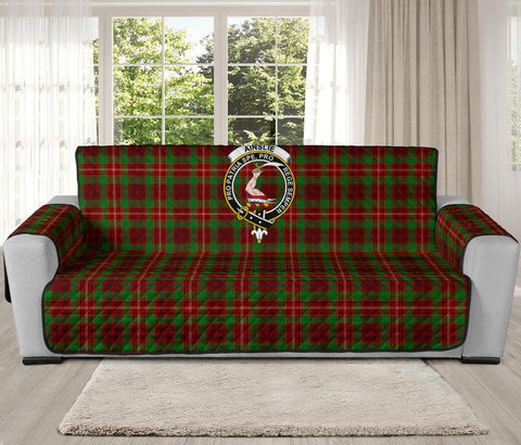 Ainslie Tartan Clan Badge Oversized Sofa Protector