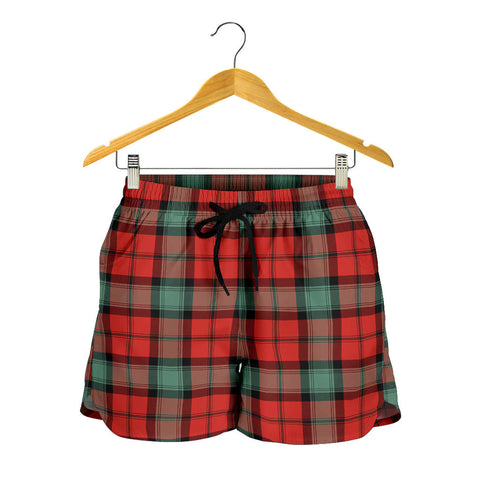 Image of Kerr Ancient Tartan Shorts For Women