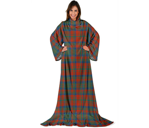 Matheson Ancient Tartan Clans Sleeve Blanket | scottishclans.co