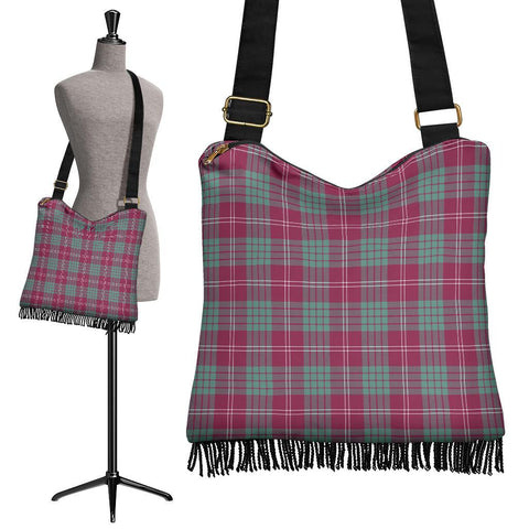 Crawford Ancient Tartan Boho Handbag | scottishclans.co