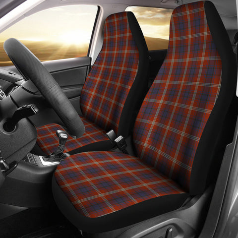 Image of Ainslie Tartan Car Seat Covers