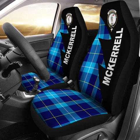 Image of McKerrell Clans Tartan Car Seat Covers - Flash Style