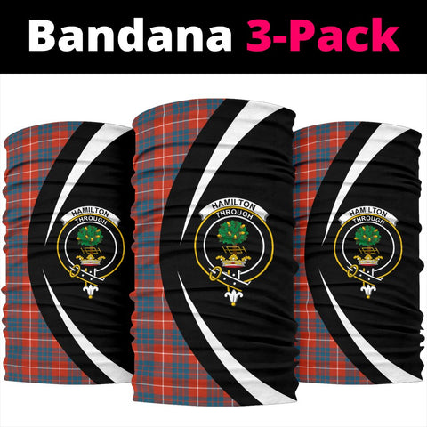 Hamilton Ancient Tartan Bandana Circle