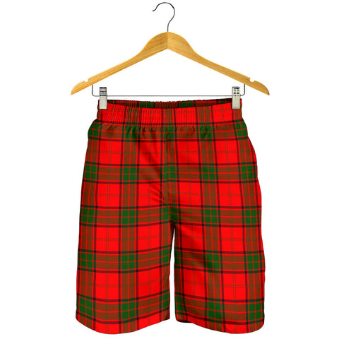 Maxwell Modern Tartan Shorts For Men