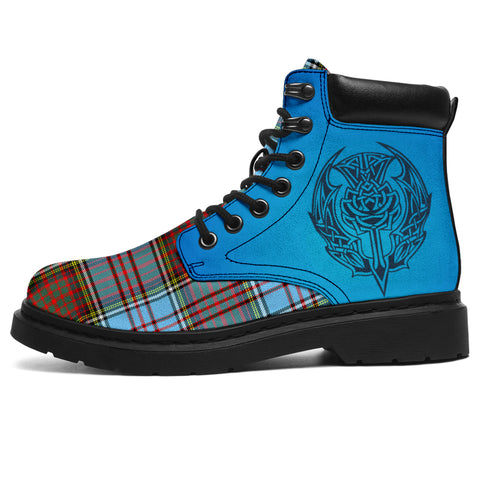 Anderson Ancient Tartan All-Season Boots - Celtic Thistle | scottishclans.co