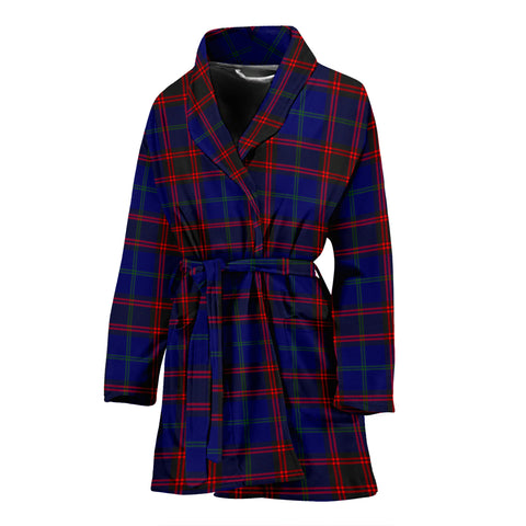 Home Modern Tartan Womens Bathrobe