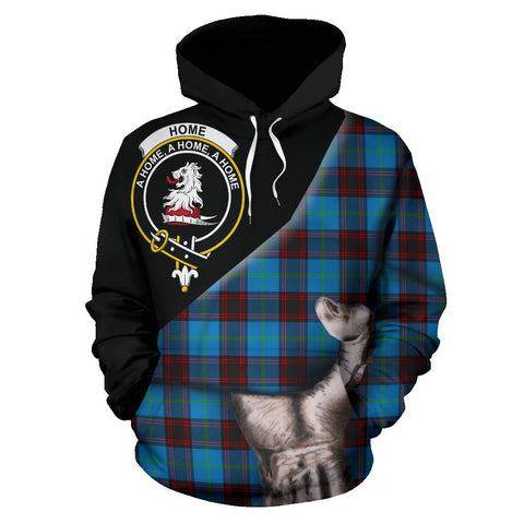 Home Ancient Tartan Clan Crest Hoodie Patronage HJ4