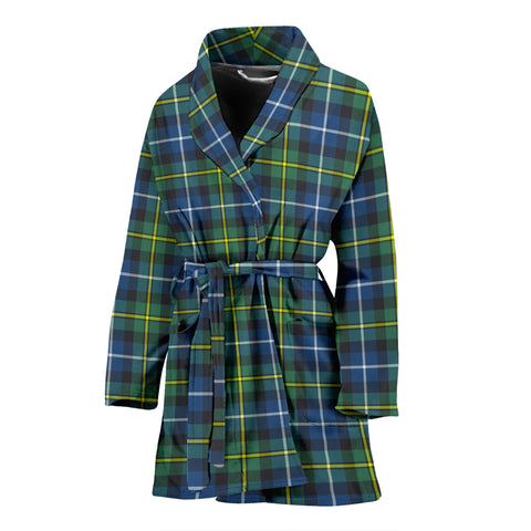 MacNeill Of Barra Ancient Tartan Womens Bathrobe