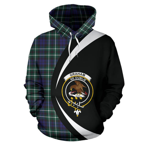 Graham of Montrose Modern Tartan Circle Hoodie
