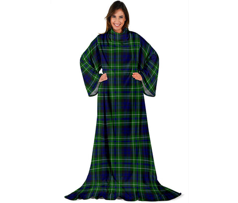 MacNeil of Colonsay Modern Tartan Clans Sleeve Blanket | scottishclans.co