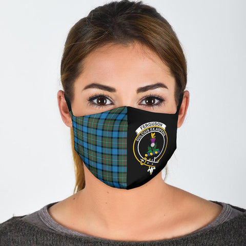 Fergusson Ancient  Tartan Mouth Mask The Half
