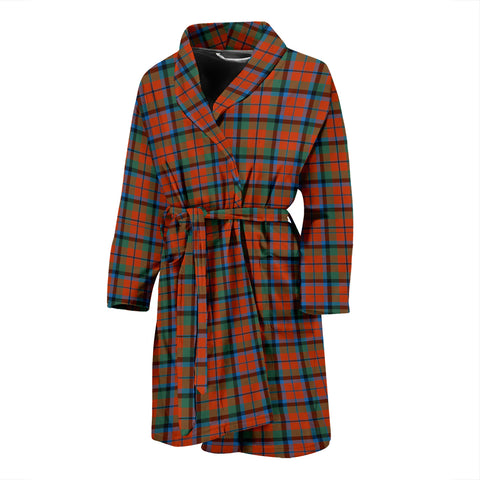 MacNaughton Ancient Tartan Mens Bathrobe
