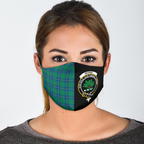 Irvine Ancient  Tartan Mouth Mask The Half