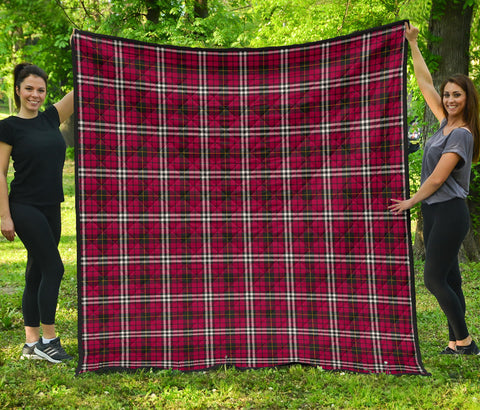 Little Tartan Premium Quilt | Scottishclans.co