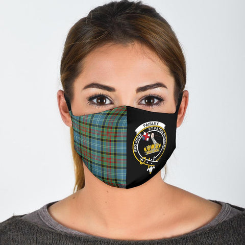 Paisley District  Tartan Mouth Mask The Half