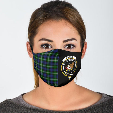Image of Baillie Modern  Tartan Mouth Mask The Half