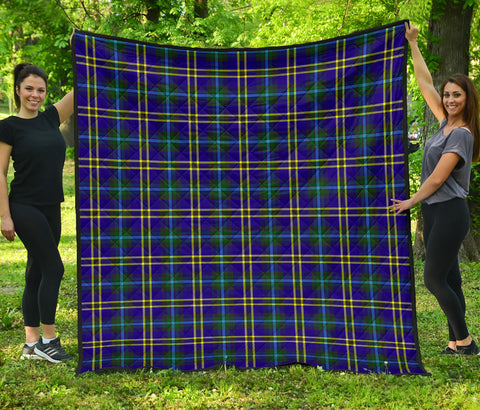 Image of Weir Modern Tartan Premium Quilt | Scottishclans.co