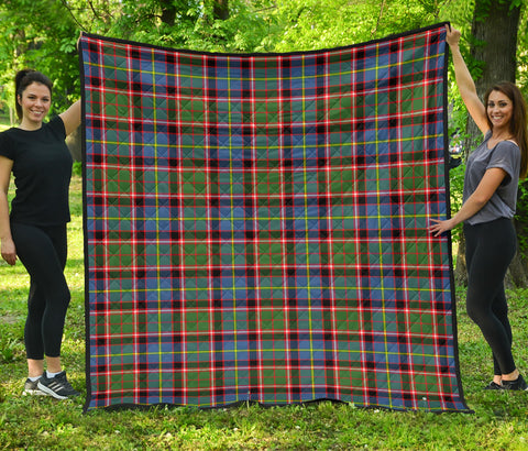 Stirling & Bannockburn District Tartan Premium Quilt | Scottishclans.co