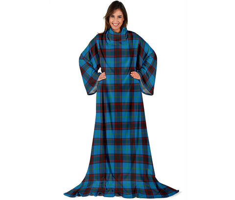 Home Ancient Tartan Clans Sleeve Blanket | scottishclans.co
