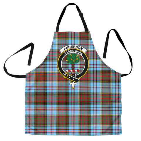 Image of Anderson Ancient Tartan Clan Crest Apron